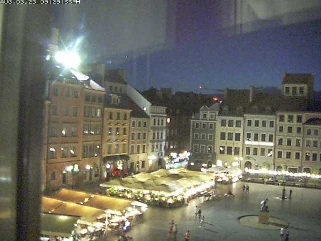 Webcam Rynek Starego Miasta, Warszawa